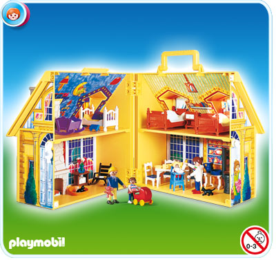 Maison playmobils for Transportables haus