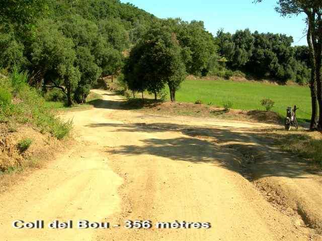 Coll del Bou (carte) - ES-GI-0350