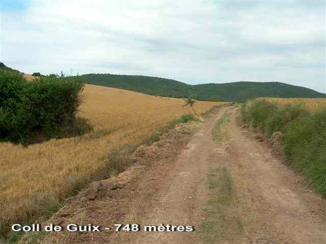 Coll de Guix - ES-B- 755 mètres