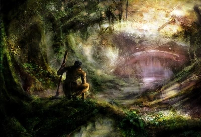 Taniwha Le monstre des Maories 1107080348001278938441314