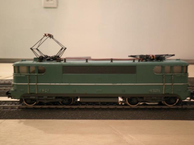 "BB-9313 SNCF ""Jacquemin"" Roco 3 rails AC 1107130240291194568464628"