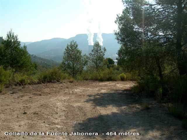 Collado de la Fuente Jabonera - ES-V- 464 mètres