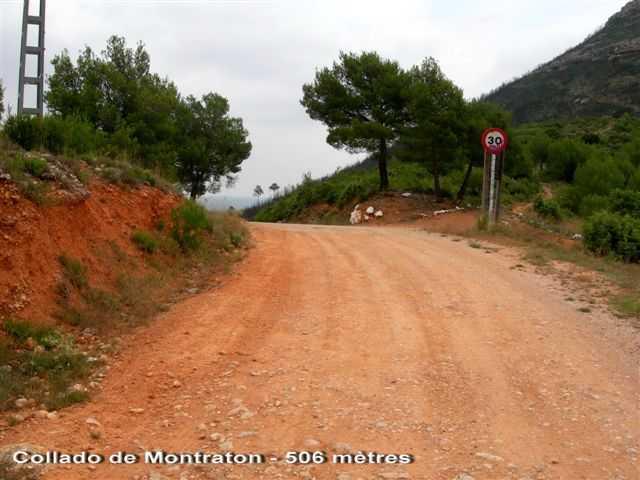 Collado de Montraton - ES-V- 506 mètres