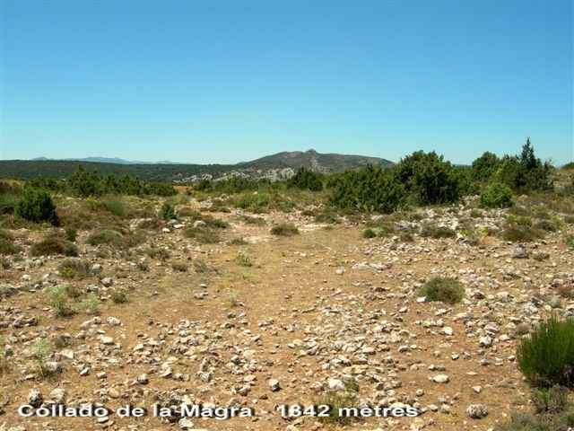 Collado de la Magra - ES-MU- 1342 mètres