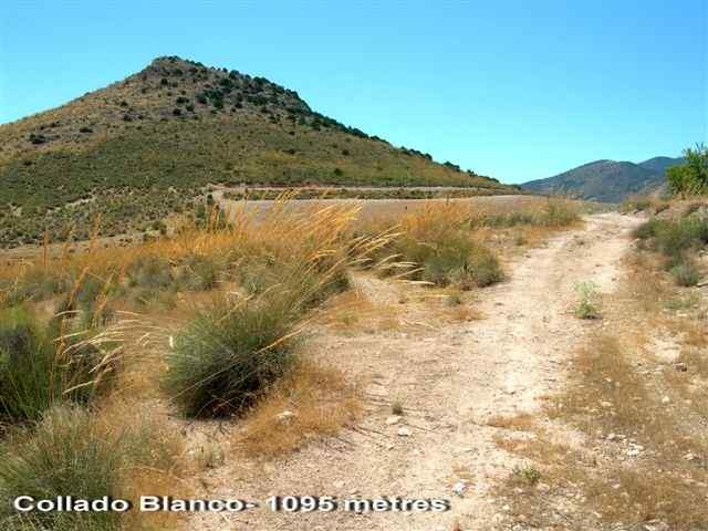 Collado Blanco - ES-GR- 1095 mètres