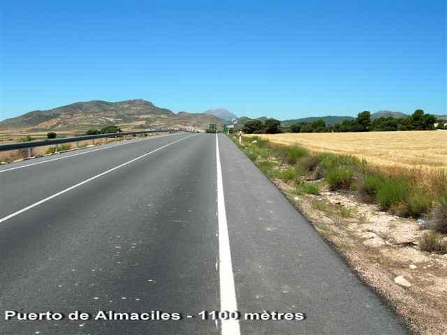 Puerto de Almaciles - 1100 mètres