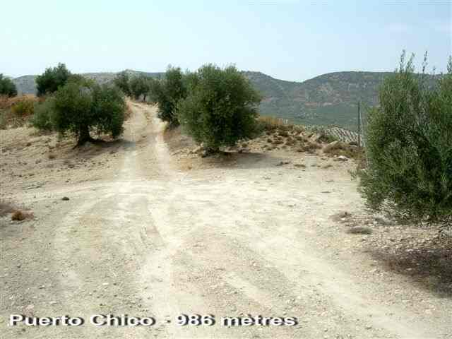Puerto Chico - ES-J- 995 mètres