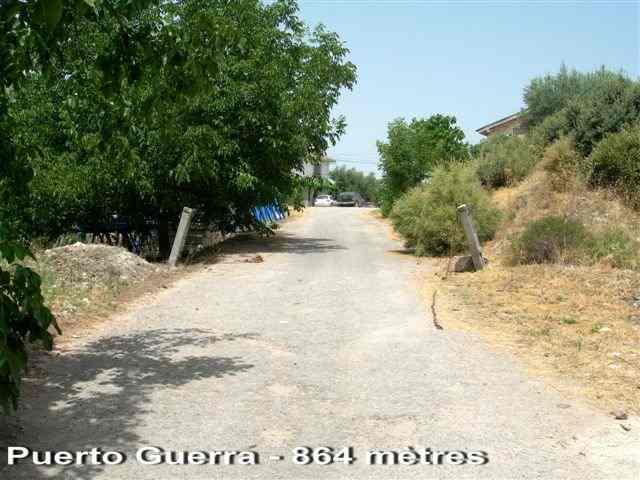 Puerto Guerra - ES-GR- 864 mètres