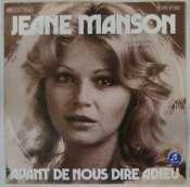 MANSON JEANE - Avant de nous dire adieu - 45T (SP 2 titres)