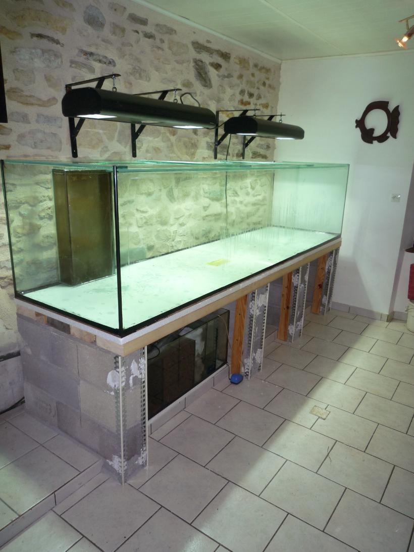 Fabriquer Table Aquarium Destiné Support Pour Aquarium Le Quel Faire?