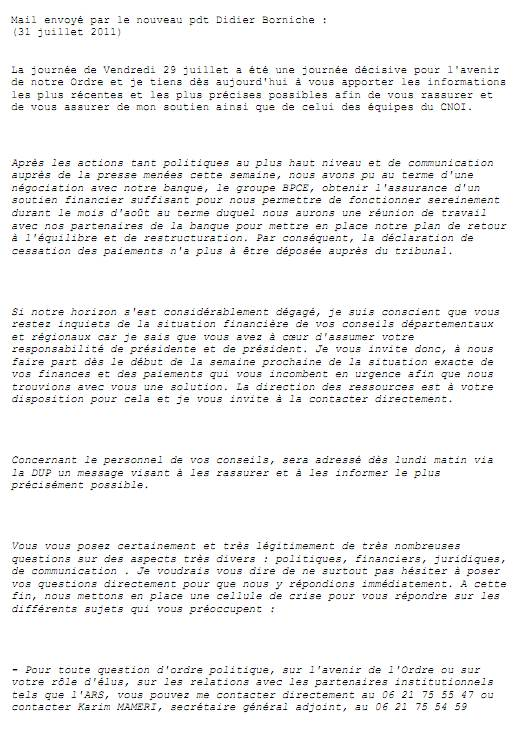 second anniversaire 29 juillet 2011 - réanimation ordre infirmier  :  les preuves ... 1107310156321139708529571