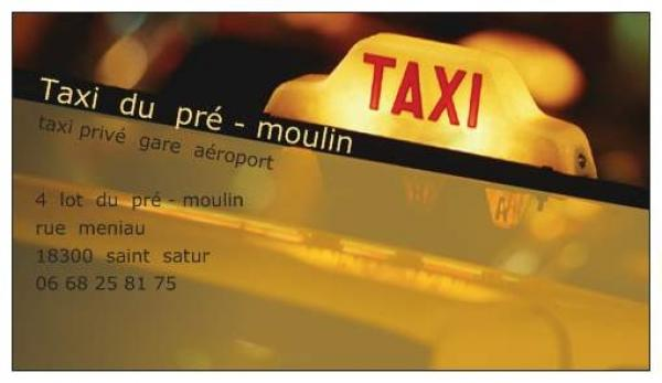 SAINT-SATUR - TAXI du pré moulin 110808104435643128560118