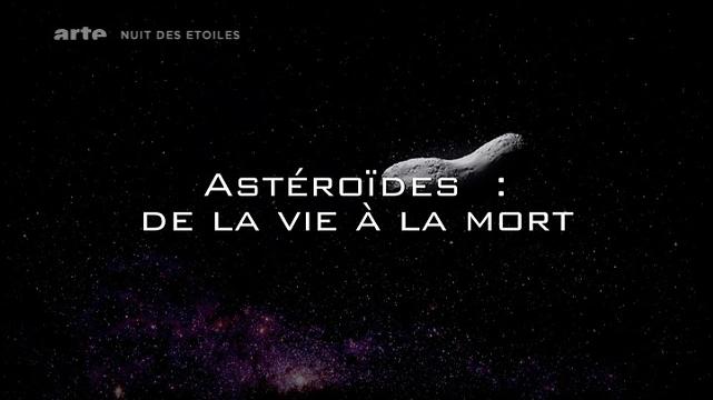 Astéroïdes : de la vie à la mort affiche
