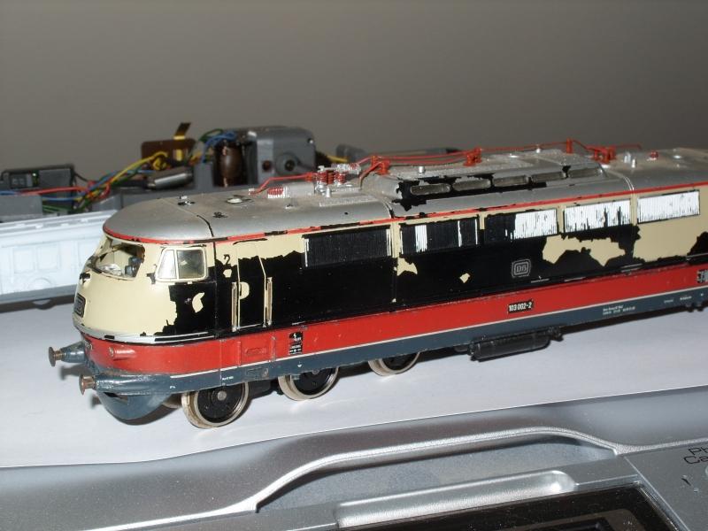 Restauration E 103 1ere génération 110812121848938438575614