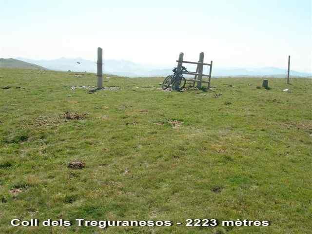 Coll dels Treguranesos - ES-GI- 2223 mètres
