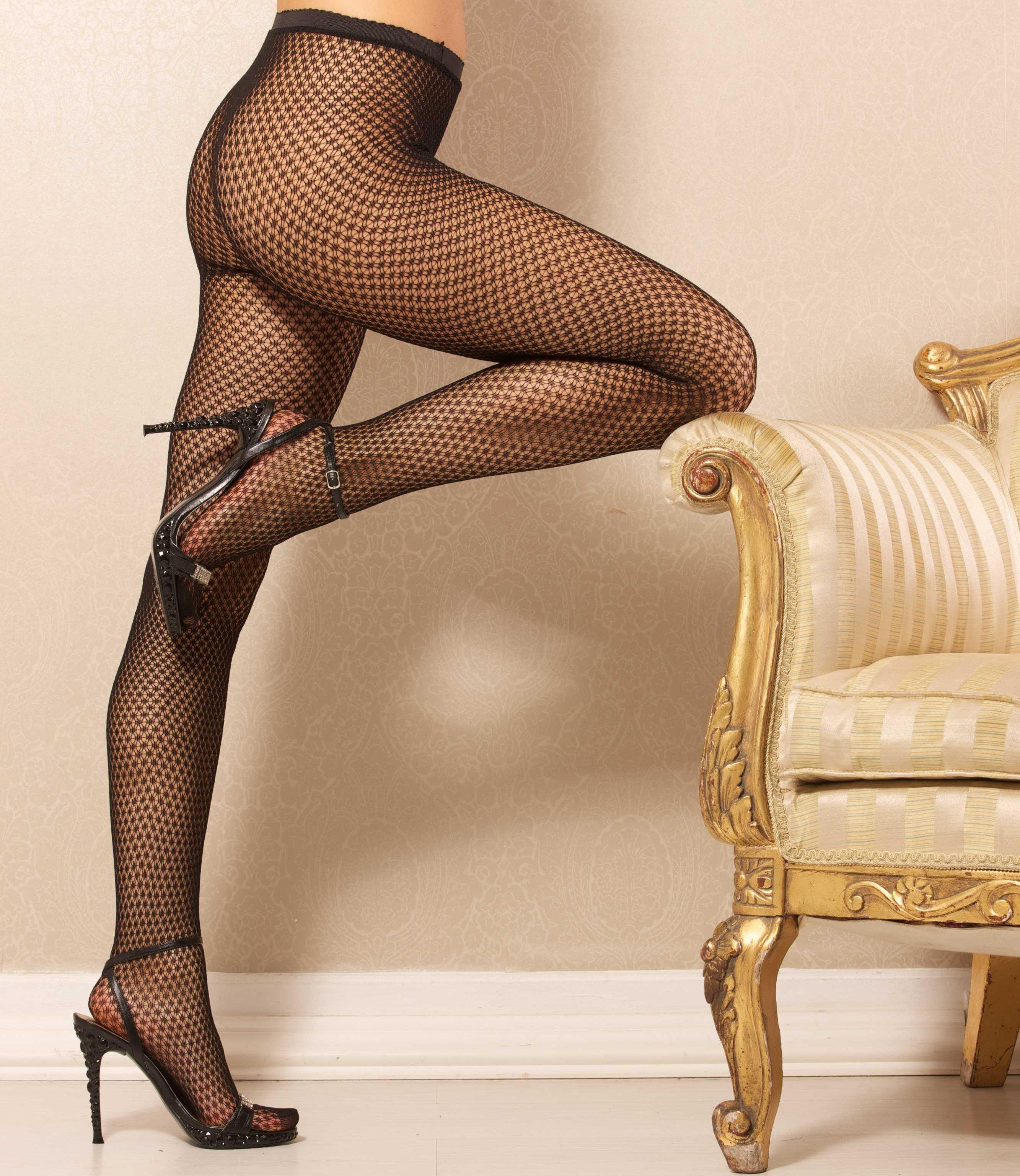 collants fantaisie noir lingerie femme glamour sexy
