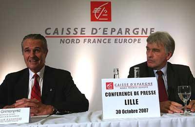 """""""Caisse d'Epargne de Flandre"""" wordt """"Caisse d'Epargne Nord France Europe"""" 110823103041970738631588"""