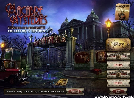 Macabre Mysteries - Curse of the Nightingale Collector's Edition [PC] [US] [FS] [WU]