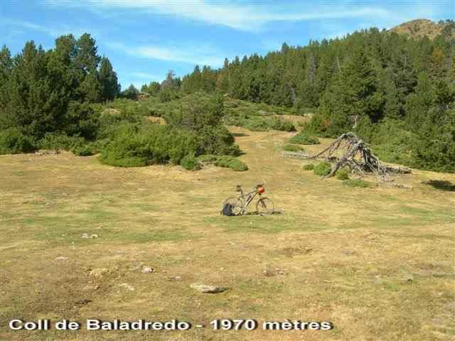 En direction du Coll de Baladredo