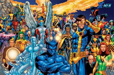 Marvel Comics : X-men 1109100356571343498721077