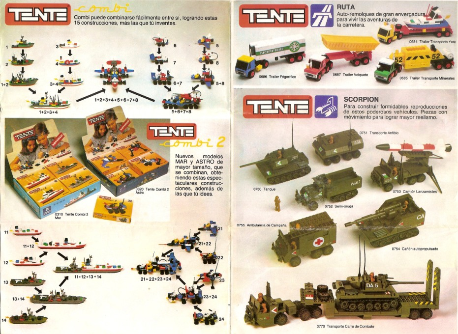 TENTE - le Lego espagnol 110916105242668848753086