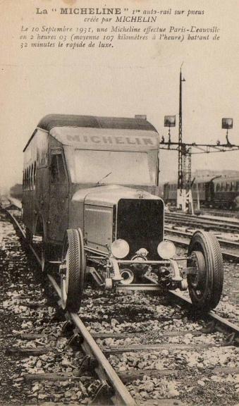 Micheline 10 septembre 1931 à l'occasion du 1er essai. 1109170137261007268754739