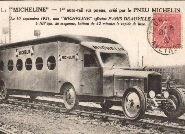 Micheline 10 septembre 1931 à l'occasion du 1er essai. 1109170138151007268754773