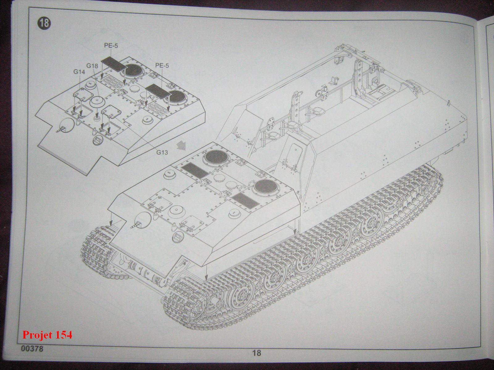 [Trumpeter]Geschützwagen Tiger für 17cm Kanone 72 (Sf)[1:35] 1109201025101175498772579
