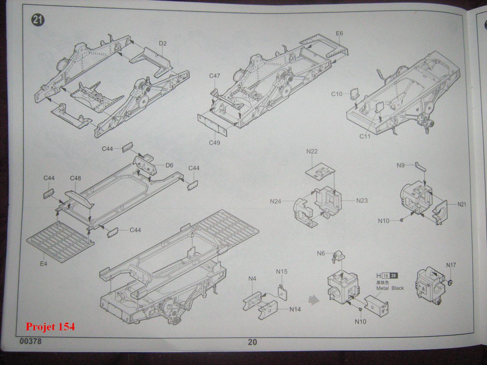 [Trumpeter]Geschützwagen Tiger für 17cm Kanone 72 (Sf)[1:35] 1109201025101175498772581