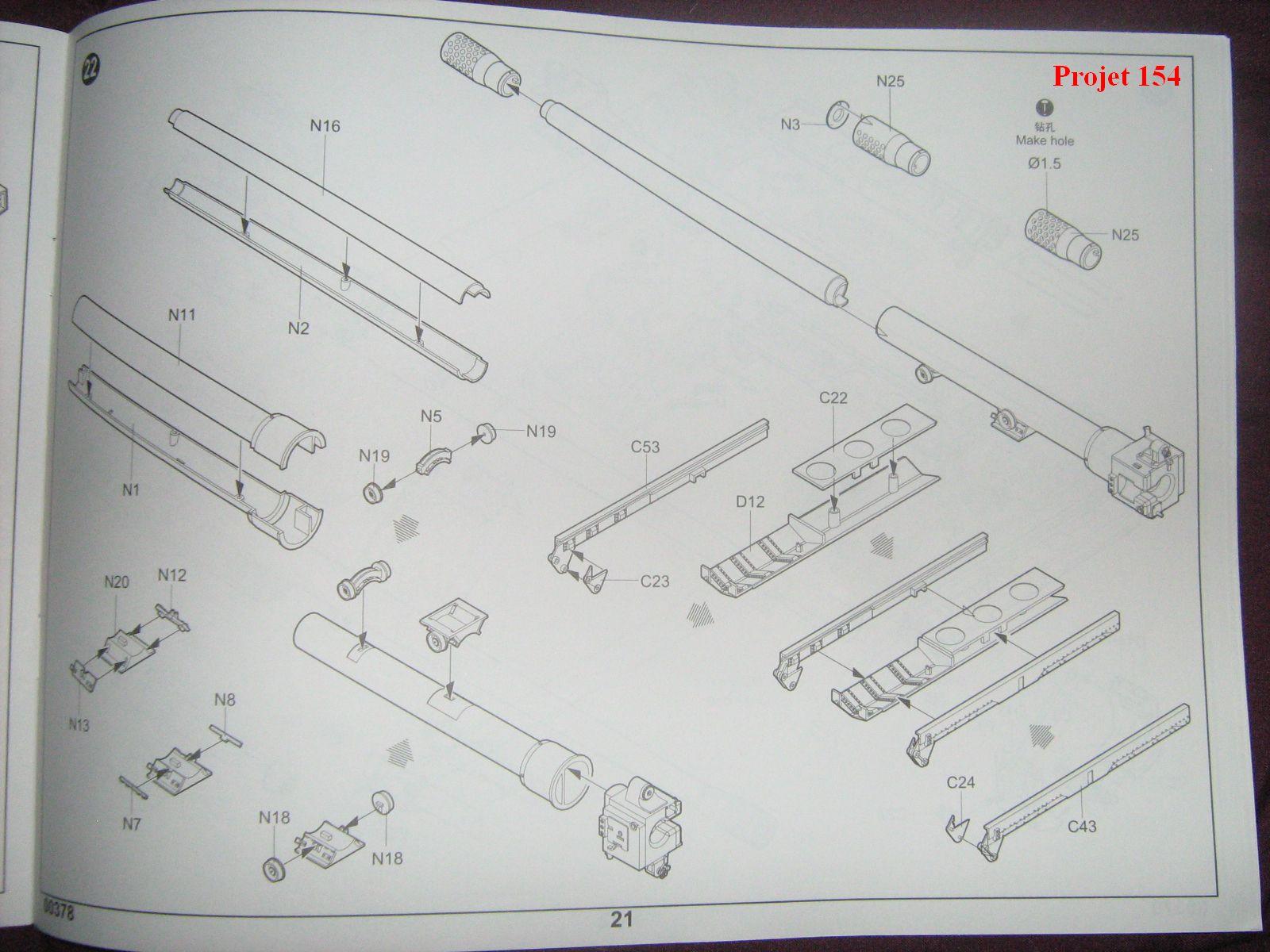 [Trumpeter]Geschützwagen Tiger für 17cm Kanone 72 (Sf)[1:35] 1109201025101175498772582