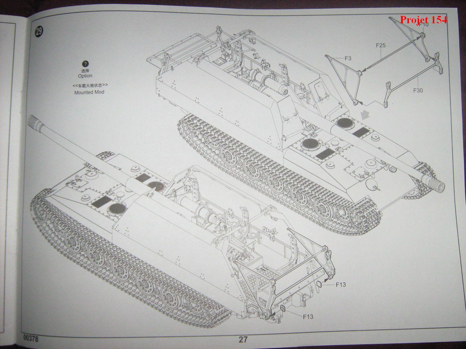 [Trumpeter]Geschützwagen Tiger für 17cm Kanone 72 (Sf)[1:35] 1109201025121175498772588