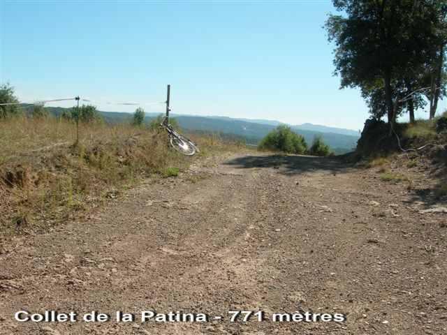 Collet de la Patina - ES-B- 771 mètres