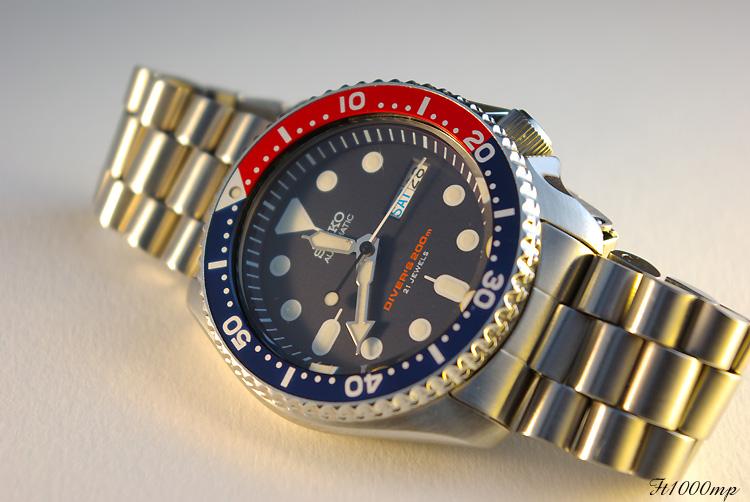 """Revue et vidéo  Diver's 200  modele """"J"""" bracelet Jubilé 1109280720041388898811320"""