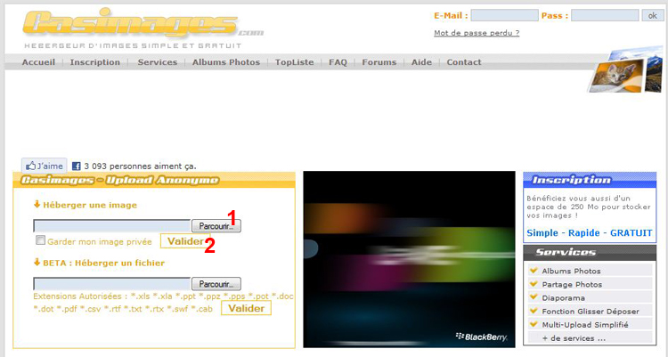 inserer - [TUTORIEL] Comment inserer une photo sur le forum! 1109280839431388898811671