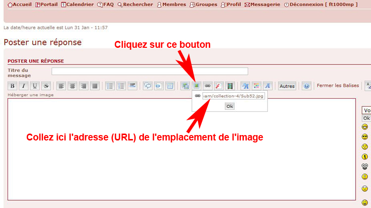 inserer - [TUTORIEL] Comment inserer une photo sur le forum! 1109280839441388898811674