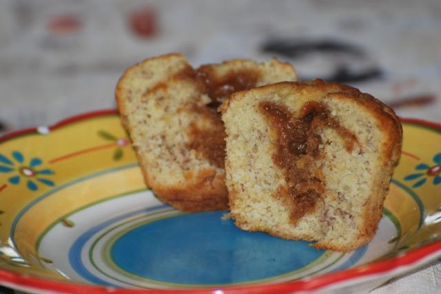 Muffins Bananes caramel !! 110929062858871298815455