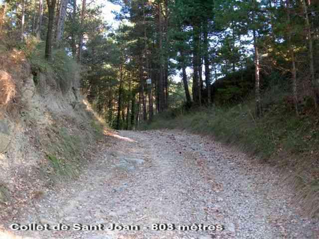 Collet de Sant Joan - ES-B-0803