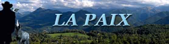 POLITIQUE-BLOGS : La Paix