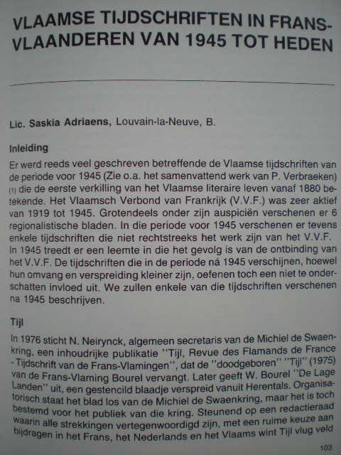 Geschiedenis van de Frans-Vlaamse beweging 111010102631970738876855
