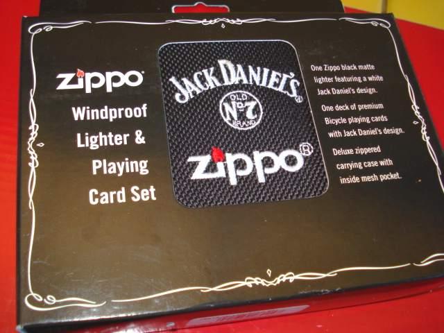 zippo coffret cadeau jack daniels briquet zippo et. Black Bedroom Furniture Sets. Home Design Ideas