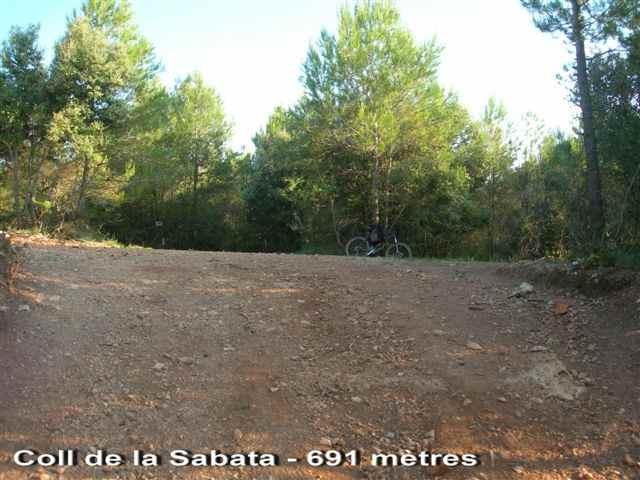 Coll de la Sabata - ES-B- 691 mètres