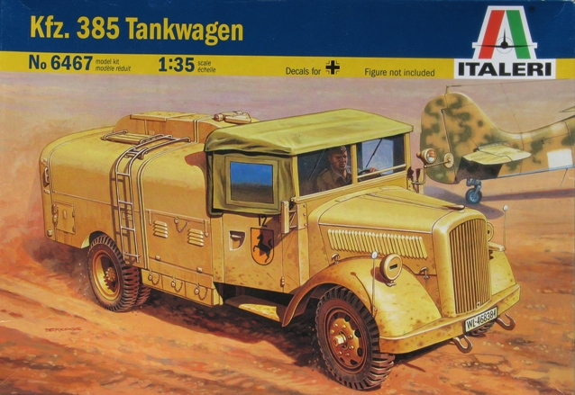 kfz.385 tankwagen Italeri 1/35 111026032432667018959314