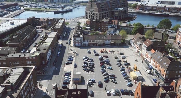 De Salengroplaats, de volgende architecturale vlek van Duinkerke? - Den draed 111026063241970738957986