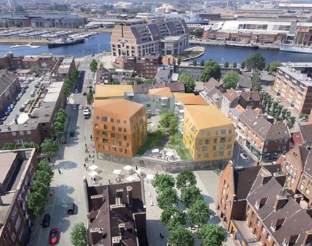 De Salengroplaats, de volgende architecturale vlek van Duinkerke? - Den draed 111029042305970738973422