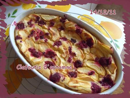 Clafoutis d'automne  111214064633683839178531