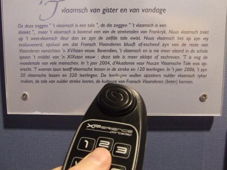 Het Frans-Vlaams in de musea, bezoekerscentra en toeristische diensten 1112160844301419619184382