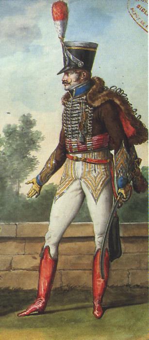 Robert Gaspard Nicolas Custine, major du 8ème hussards 111216114842359349184817