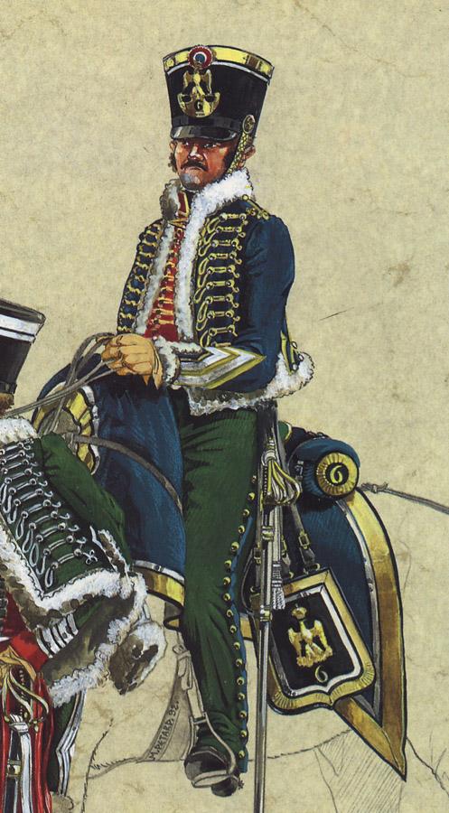 Robert Gaspard Nicolas Custine, major du 8ème hussards 111216114842359349184818