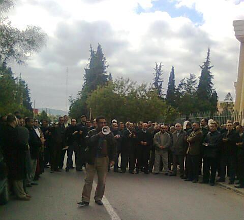 الناظور: إداري واضح بسبب احتجاجات