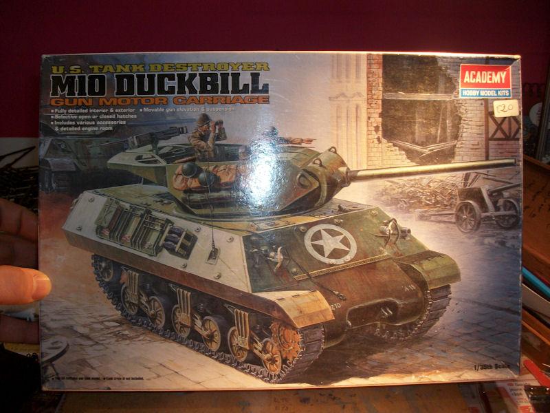 1/35 M10 DUCKBILL Gun motor carriage de chez ACADEMY 1112220505131410669208632